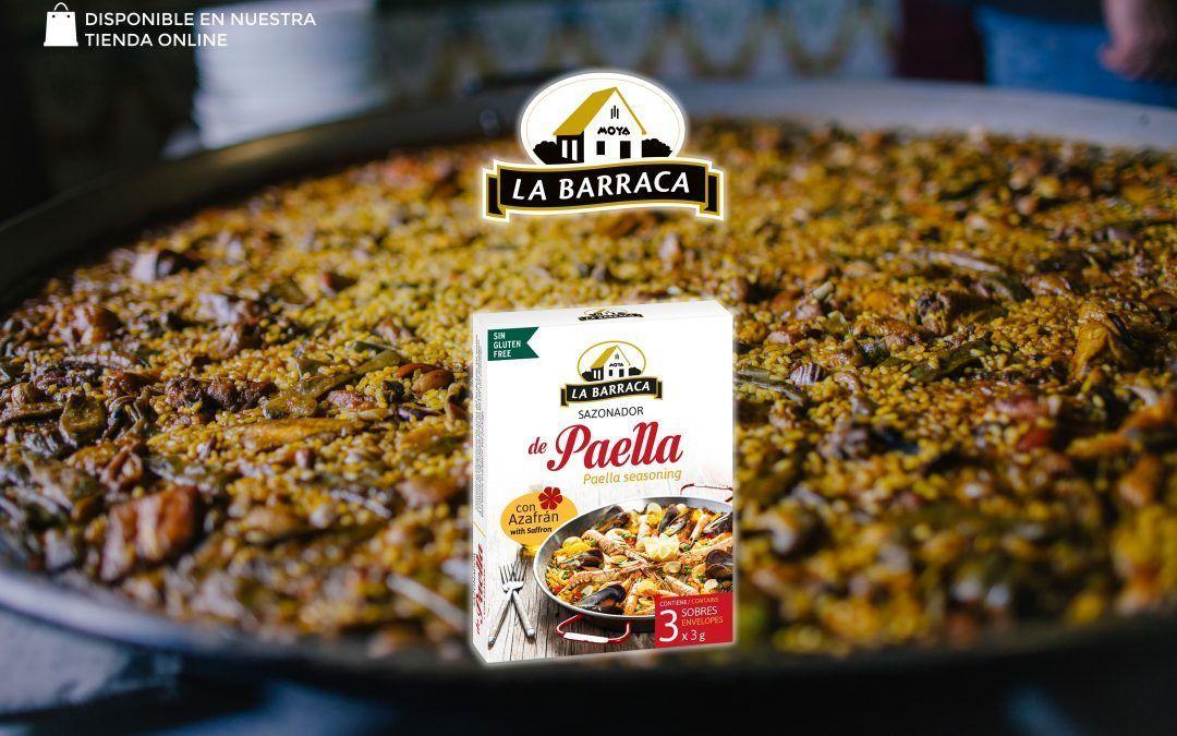 Sazonador Paella con Azafrán