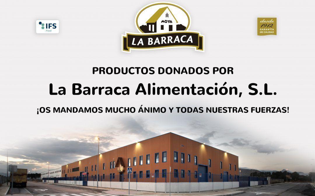 La Barraca Alimentación dona lotes de productos a IFEMA