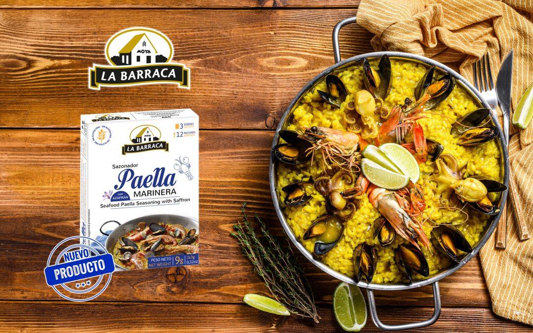 Sazonador Paella Marinera con Azafrán